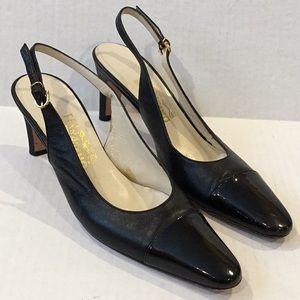 FERRAGAMO Black Salvatore Shoes